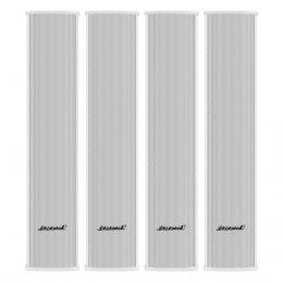 Line Array Vertical Oneal Passivo Branco 180W OLB602 (4 Unidades)