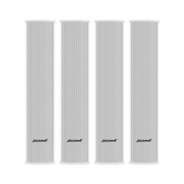 Line Array Vertical Oneal Passivo Branco 300W OLB1202 (4 Unidades)