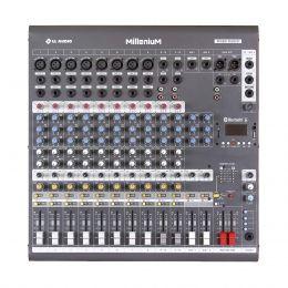 Mesa de Som 12 Canais c/ USB / SD / BLUETOOTH M1202D - LL AUDIO