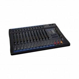 Mesa de Som 12 Canais XLR Balanceados c/ USB / Efeito / Phantom / 1 Auxiliar - OMX 1202 Oneal