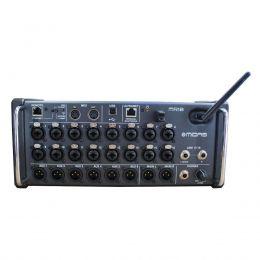 Mesa de Som 18 Canais 16 conectores XLR/P10 USB Play/Phatom/6 Auxiliares MR18 MIDAS