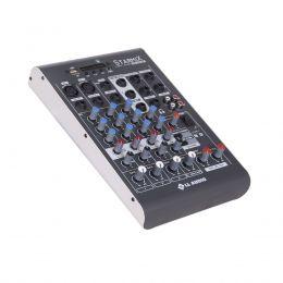 Mesa de Som Starmix 4 canais LL Audio XMS402R