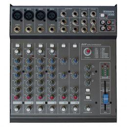 Mesa de Som Amplificada 200W 4 OHMS CSR 8200 8 Canais