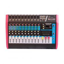 Mesa de Som Amplificada 500W 4 OHMS MA1030X 10 Canais Mono Soundvoice
