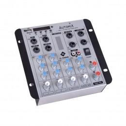 Mesa de Som Automix 4 canais LL Audio A502R BT