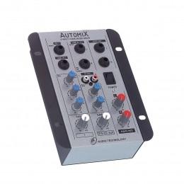 Mesa de Som Automix 2 canais LL Audio A202R
