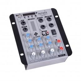 Mesa de Som Automix 2 canais LL Audio A 302 R BT