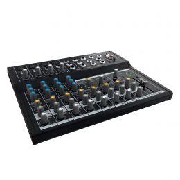 Mesa de Som Mackie 12 Canais (4 XLR Balanceados + 8 P10 Desbalanceados) c/ Phantom Mix12FX