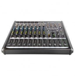 Mesa de Som Mackie 12 Canais (6 XLR Balanceados + 4 P10 Desbalanceados) Equalizador / Efeitos PROFX12V2