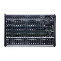 Mesa de Som Mackie 22 Canais (16 XLR Balanceados + 4 P10 Desbalanceados) Equalizador / Efeitos PROFX22V2