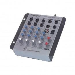 Mesa de Som Nanomix 4 canais LL Audio NA402R