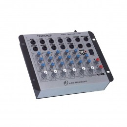 Mesa de Som Nanomix 6 canais LL Audio NA602R