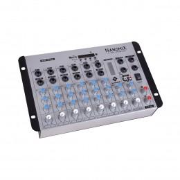 Mesa de Som Nanomix 8 canais LL Audio NA902R BT.