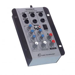 Mesa de Som Nanomix 2 canais LL Audio NA 202 R