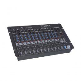 Mesa de Som Starmix 12 canais LL Audio S1202D
