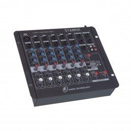 Mesa de Som Starmix 6 canais LL Audio S602R.