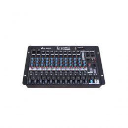 Mesa de Som Starmix 12 canais LL Audio S1202D BT