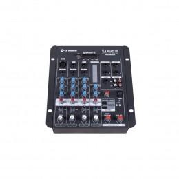 Mesa de Som Starmix 4 canais LL Audio S402R BT