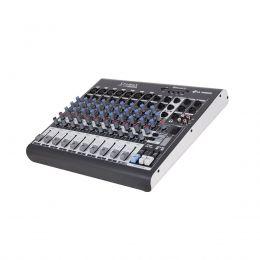 Mesa de Som LL Audio 10 Canais (7 XLR Balanceados + 2 P10 Desbalanceados) XMS1002D