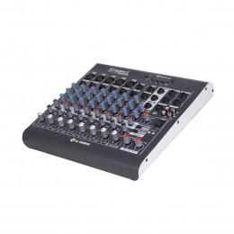 Mesa de Som Starmix 8 canais LL Audio XMS802R