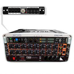 Mesa digital 16 Canais X32 16MK Core Modular Compacta Portátil c/ Case