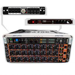Mesa digital 24 Canais X32 24MK Core Modular Compacta Portátil c/ Case