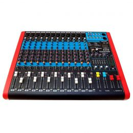 Mesa de Som MS124 12 Canais Mono XLR/P10 Balanceados SoundVoice