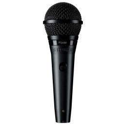 Microfone c/ Fio de Mão Dinâmico - PGA 58 LC Shure