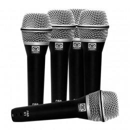Microfone com Fio de Mão Dinâmico (5 Unidades) PRA D 5 Superlux