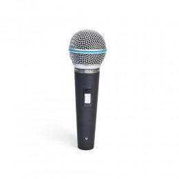 Microfone Com Fio Dinâmico EMS-580 Jwl