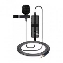 Microfone de Lapela Jwl J-M1 Omnidirecional
