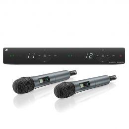 Microfone de mão duplo sem fio Sennheiser XSW 1-825 DUAL