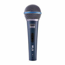 Microfone de mão WLS com fio / chave M 58A