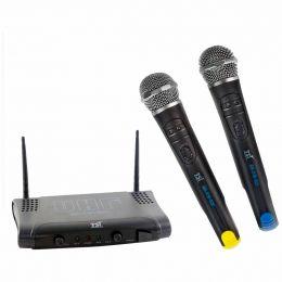 Microfone s/ Fio de Mão Duplo UHF - MS 215 UHF TSI