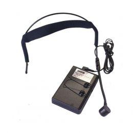 Microfone s/ Fio DUPLO Headset / Lapela / VHF - WR 202 R CSR