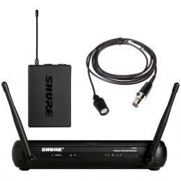 Sistema sem Fio SVX14BR/CVL Microfone Lapela Shure