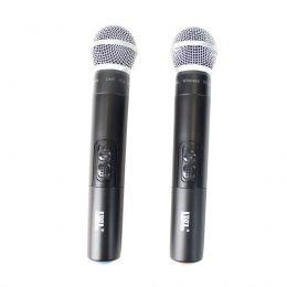 Microfone s/ Fio Mão Duplo UHF JWL U-585 - JWL