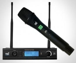 Microfone sem Fio de Mão UHF - 7099 UHF TSI