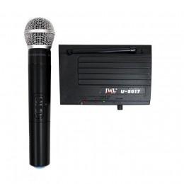 Microfone Sem Fio de Mão UHF U-8017 JWL