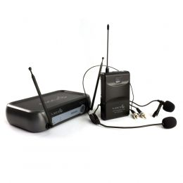 Microfone sem fio Lyco Headset / Lapela VHF Lyco VH01MAX-HL