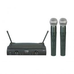 Microfone sem fio TagSound Tagima duplo de mão UHF TM559B