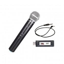Microfone USB Sem Fio Mão UHF U-8017 X JWL