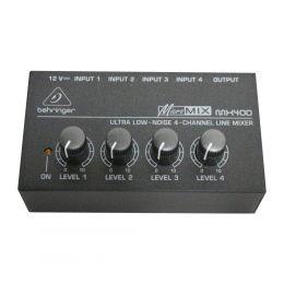 Mixer Micromix MX400 4 Canais Behringer