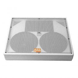 Caixa Monitor Passivo MONVOX1222 2x12 Polegadas Branco 300W Voxtron