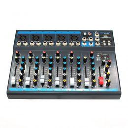 Mesa de Som 5 Canais XLR Balanceados c/ USB / Efeito / 1 Auxiliar - OMX 52 Oneal