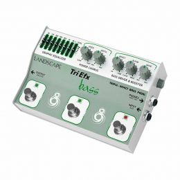 Pedal Drive / Boost / Overdrive p/ Contrabaixo - TriBS TriEfx Bass Landscape