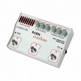 Pedal Overdrive / Boost / Distortion p/ Guitarra - TriOV TriEfx Overtone Landscape