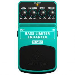 Pedal Limitador p/ Contrabaixo - Bass Limiter Enhancer BLE 400 Behringer
