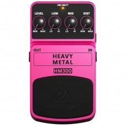 Pedal Distortion p/ Guitarra - HM 300 Behringer