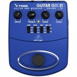 Pedal Drive p/ Guitarra - V TONE GUITAR DRIVER DI GDI21 Behringer